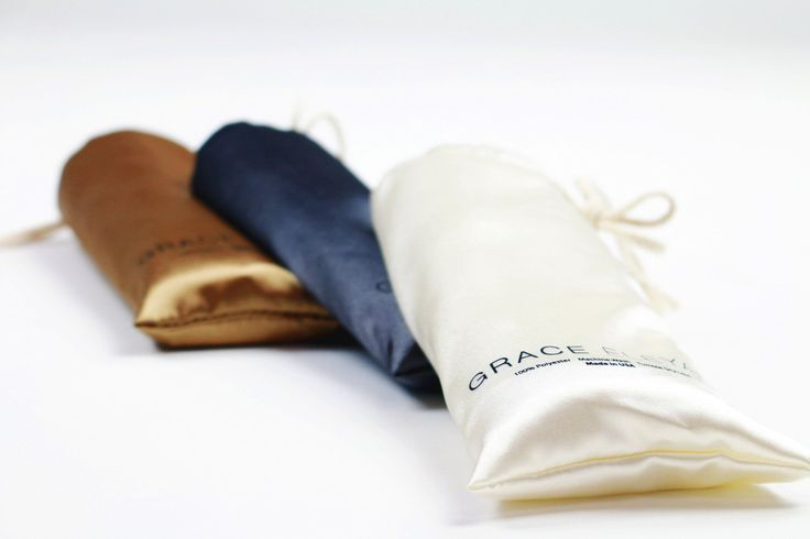 Grace Eleyae Pillowcases Ivory   Satin Pillowcase