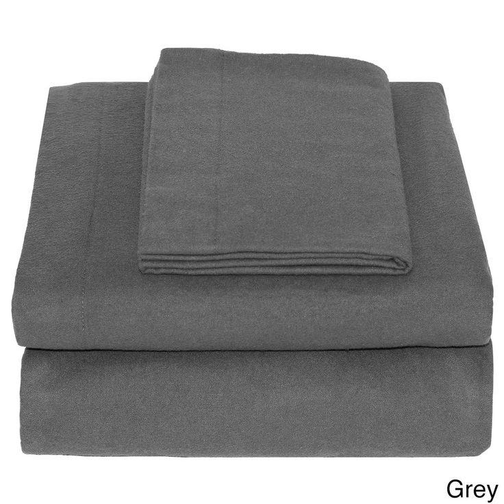 Union 100-percent Super Soft Flannel Twin XL Sheet Set
