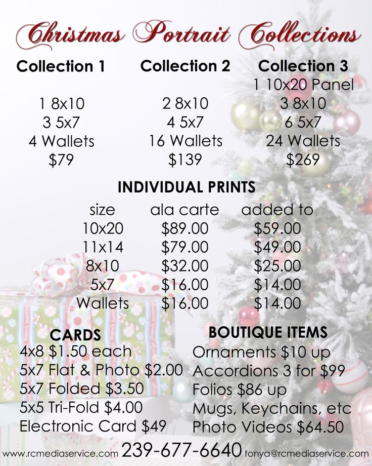 Christmas Cards $1.50 to $4 each.  Electronic Christmas Cards and Photo Videos available.  RC Media Services | Tonya Roberts