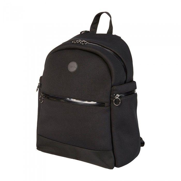 Oioi Neoprene Backpack Nappy Bag - Black