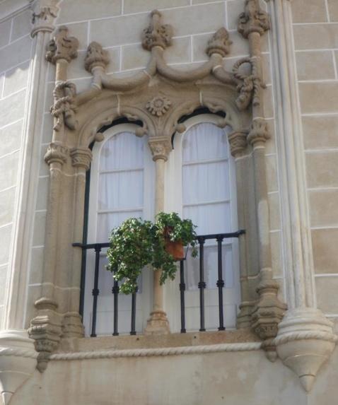 Window in Evora, Portugal