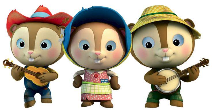 Los Perritos de la Pradera son unos personajes menores que cantan tres veces en cada episodio de...