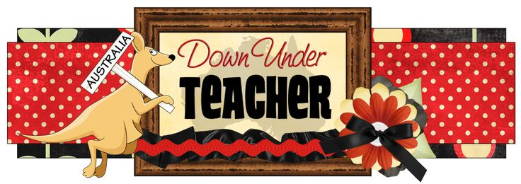 Down Under Teacher - this blog is AWESOME!  She has a TON of freebies and a wonderful TPT shop!!!