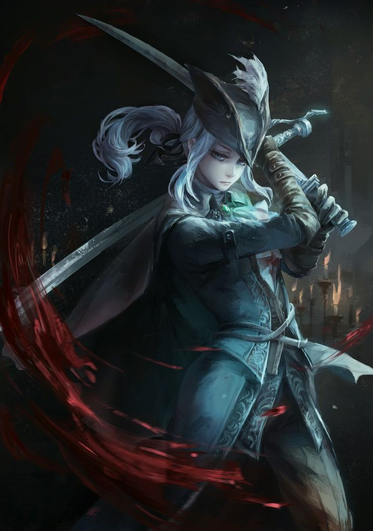 Astral Maria Clock Tower Lady of the Bloodborne
