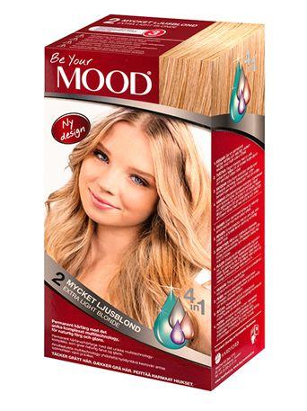 » N 02 MYCKET LJUSBLOND Permanent hårfärg med det unika komplexet multitechnology – ett 4 in 1-system som färgar, tvättar, skyddar och vårdar ditt hår, för naturlig färg och glans. Täcker grått hår upp till 100%.  Naturlig ljusblond nyans. Bevarar ljusblond ton på ljusa hår. Blonderat och mycket ljusa hår blir mörkare.