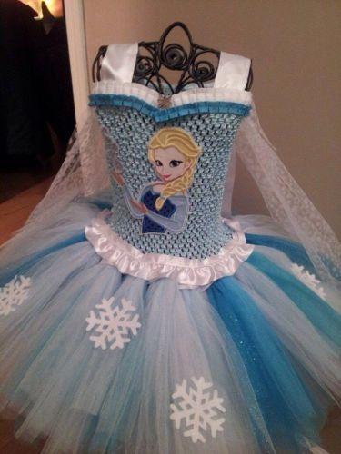 Frozen Tutu Dress, Made To Order