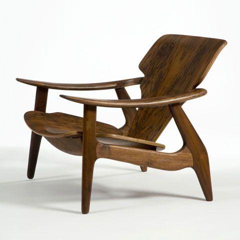 lounge chair Sergio Rodrigues design brésilien