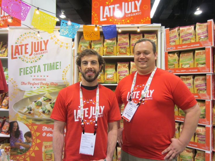 Yum, Late July snacks! Natural Products Expo West