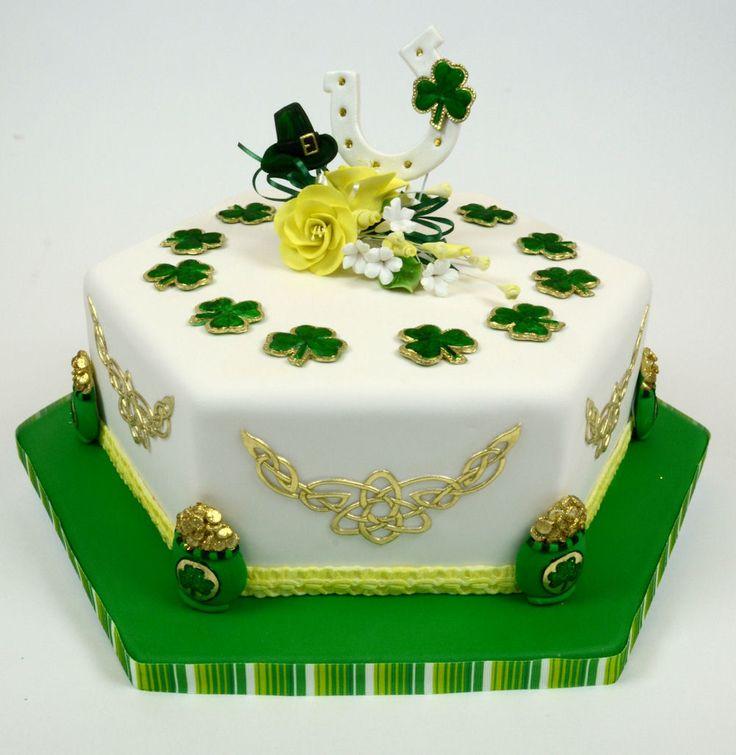 Beautiful st patricks day cake st patricks cake
