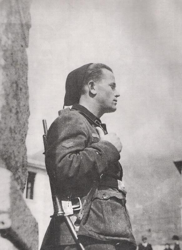 Uniform study images RSI period (1944) - Legione Tagliamento, pin by Paolo Marzioli
