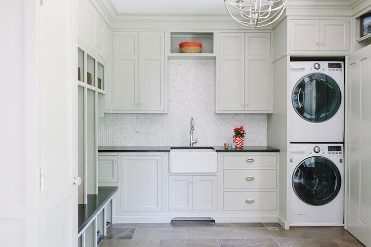 Best 25 grey laundry rooms ideas on pinterest laundry for Cupboards for laundry room