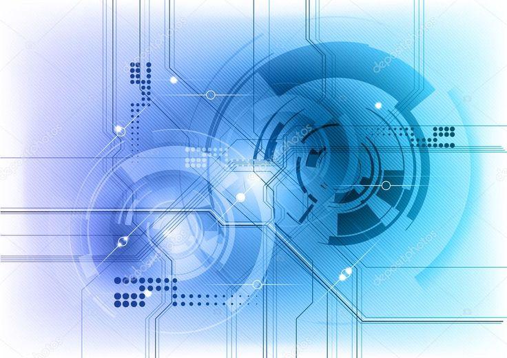 Tech background — Stock Vector © vlastas 6857010 – Luvave technology
