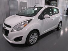 New 2014 Chevrolet Spark LS White Hatchback   MSRP $14,875