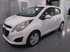 New 2014 Chevrolet Spark LS White Hatchback   MSRP $14,875