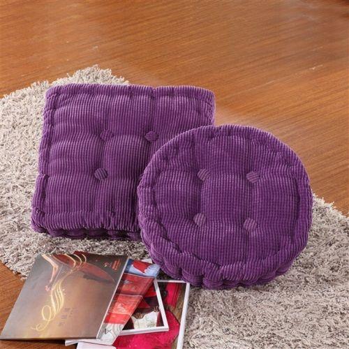 HOT selling outdoor kussens voor stoelen/vloer zitmeubelen/goedkope outdoor kussens/patio kussens/vriendje kussen in    Grootte: 40*40*4cmKleur: paarsMateriaal:corduroyHet vullen van: katoenVorm: squre/ronde Nieuw van kussen op AliExpress.com | Alibaba Groep