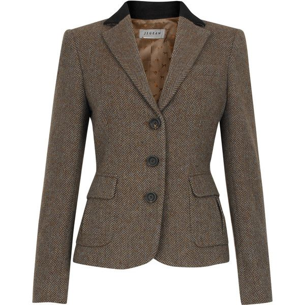 Herringbone jacket women