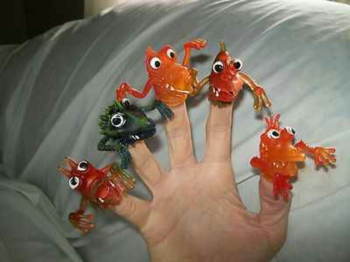 Uglies Finger Puppets
