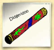 make your own didgeridoo - cardboard tube or PVC pipe Decorate with contact paper...?