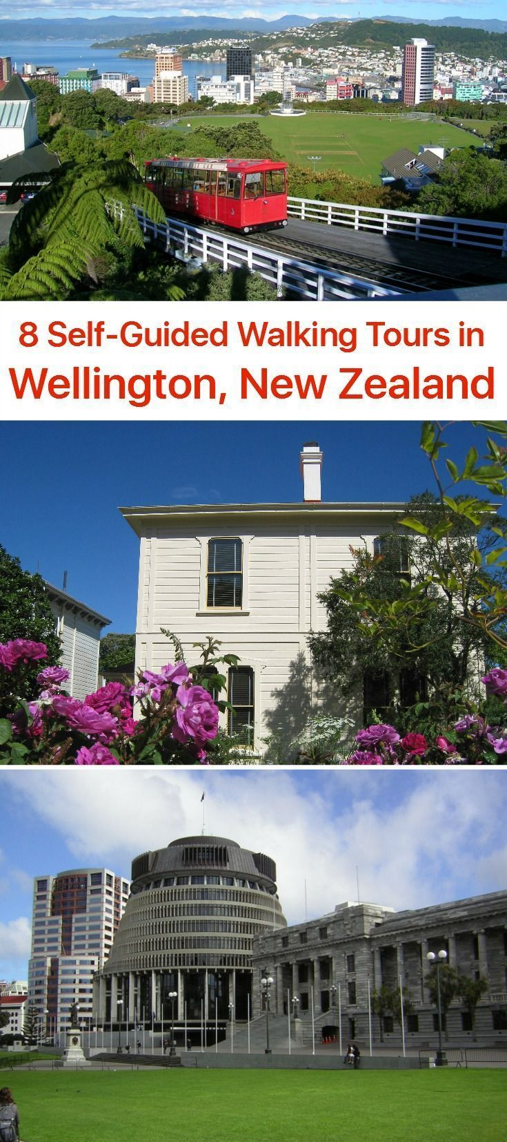"""Some refer to Wellington as an """"emerald city,"""" others say it's """"windy.""""  Both references are true, as the capital of New Zealand is located near the green-clad North Island's southernmost tip, overlooking the Cook Strait - rather windy in winter.  Compact city as such, Wellington dwells in a comfy atmosphere attained through combination of neat sandy beaches and nice-looking wooden houses sitting on the hills surrounding the harbour."""