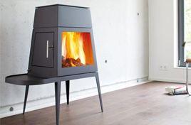 Shaker - oblica fireplace