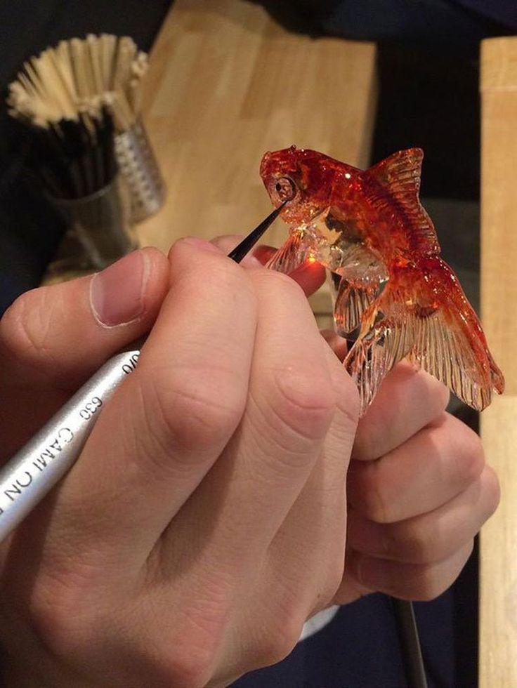 Амэдзаику — искусство создания реалистичных существ в виде леденцов