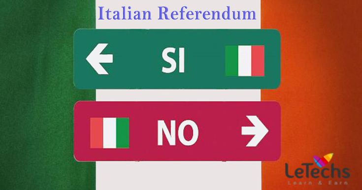 LeTechs Forex Blog - Italian Referendum: Uncertainty not only for Italian Markets, Besides Whole Euro