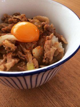 豚丼~生卵deすき焼き風~ by 気まま食堂 [クックパッド] 簡単おいしい ...
