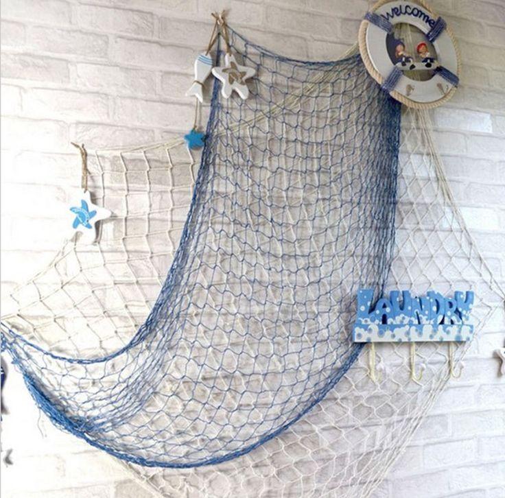 Best 25 fishing net decor ideas on pinterest fish net for Decorative fishing net