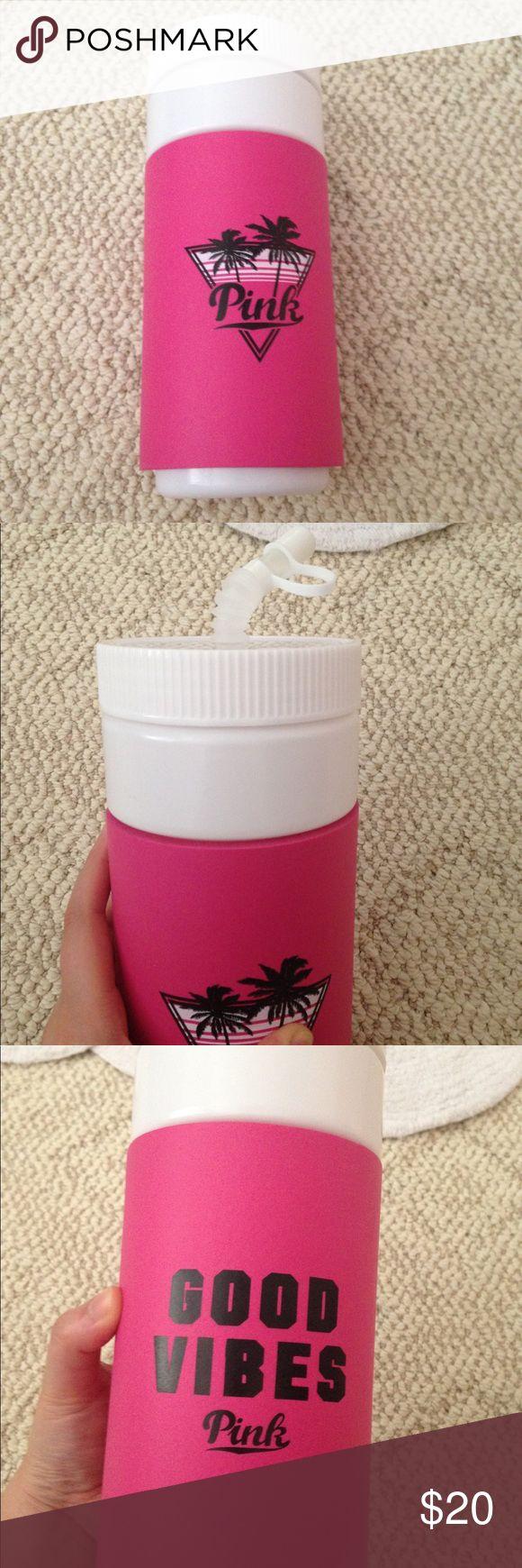 Victoria's Secret pink retro water bottle Brand new never used PINK Victoria's Secret Other