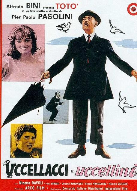 .film del 1966 diretto da Pier Paolo Pasolini, interpretato da Totò e Ninetto Davoli,.