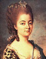 Grand-mère de George Sand, madame Dupin de Francueil, née Marie-Aurore de Saxe