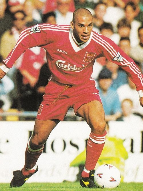 Stan Collymore del Liverpool 1995/96.