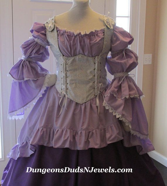 DDNJ Choose Fabric Style 3pc Burlesque by DungeonDudsNJewels