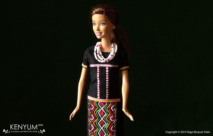 Barbie in Idu Mishmi attire