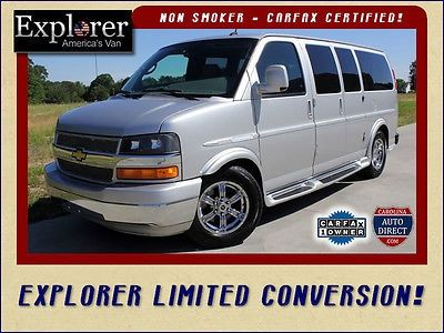 Nice 2011 Chevrolet Express 1500 Explorer Limited Conversion Van