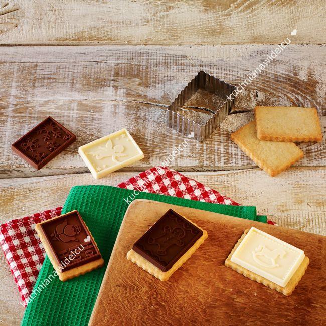 Zestaw do ciasteczek z czekoladą - petit poesie   BIRKMANN CHRISTMAS    