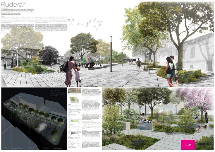 Galería de Primer lugar en concurso de remodelación de Plaza Portugal en Montevideo - 4