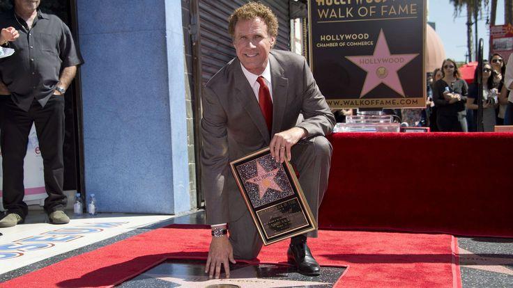 Watch Will Ferrell's hilarious, humble Walk of Fame star speech
