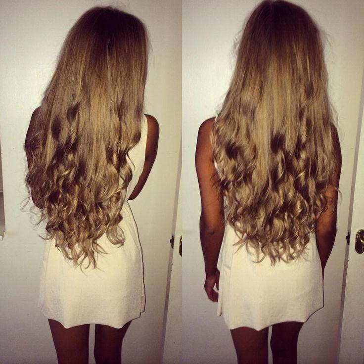 30 best hair waves images on pinterest hair extensions waves sylvija vasilevska on instagram you wouldnt believe im wearing hair extensions pmusecretfo Images