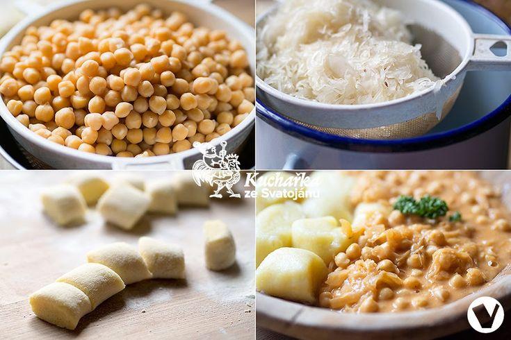 Kuchařka ze Svatojánu: CIZRNA S KYSANÝM ZELÍM NA PAPRICE