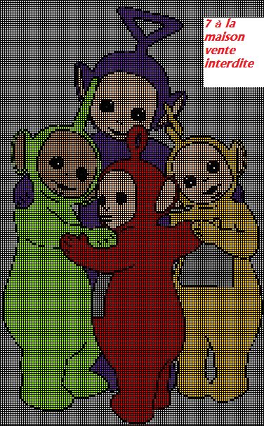 31 best Teletubbies images on Pinterest Embroidery, Cross stitches - Dessiner Maison D Gratuit