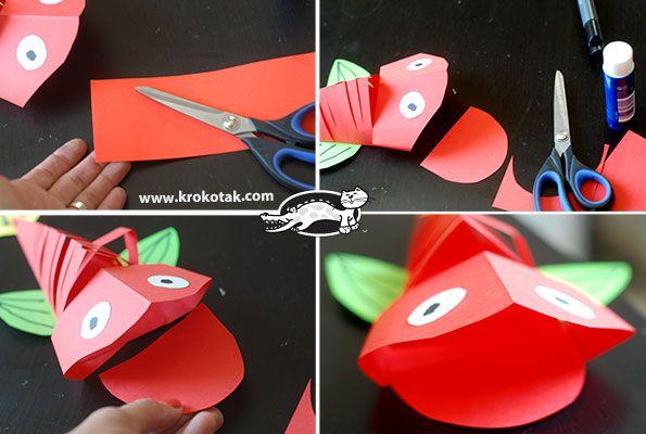 Krokotak - instructies 3D vis