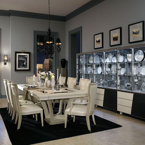 Dining Room Store: Michael Amini Featured At Mobilia Furniture Store Brooklyn