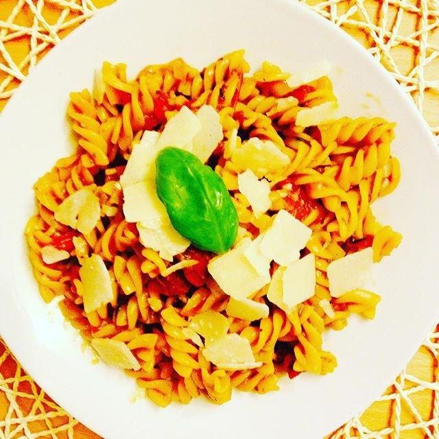 Das Ergebnis, yummy  One Pot Pasta nach einem Rezept von @sallystortenwelt #sallystortenwelt #onepotpasta #pasta #healthy #healthylifestyle #fitfam #fitfood #cleaneating #lifestylechange