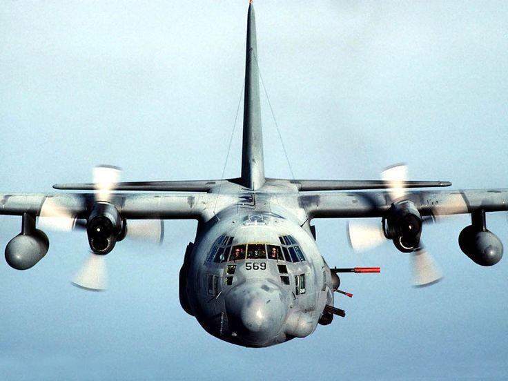 AC-130 Aircraft HD Wallpaper
