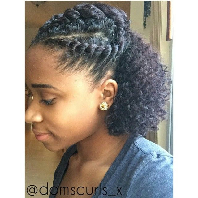 Simple Protective Style Afro Hair Natural Hair Braids Black Girls Curly Hair Curly Hair Styles Curly Hair Styles Naturally Hot Hair Styles