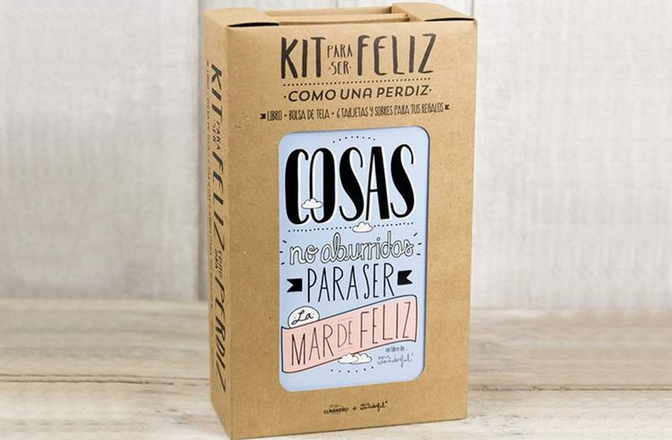 Kit para ser feliz como una perdiz de Mr Wonderful