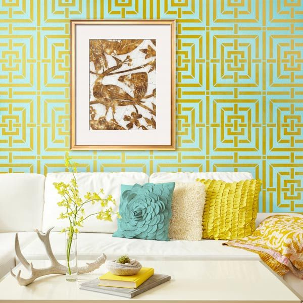 16 best greek key images on Pinterest | Wall stenciling, Geometric ...