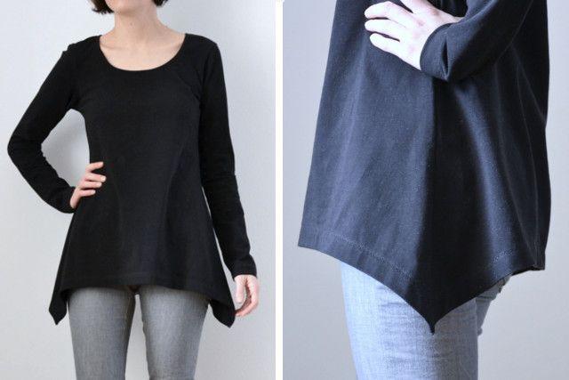 T-Shirt Bausteine: ZIPFELSAUM