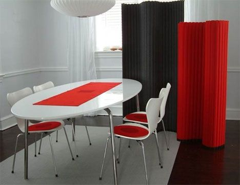 Designers Eye Wall This Flexible And Sound Absorbing Screen System Consists Of Felted